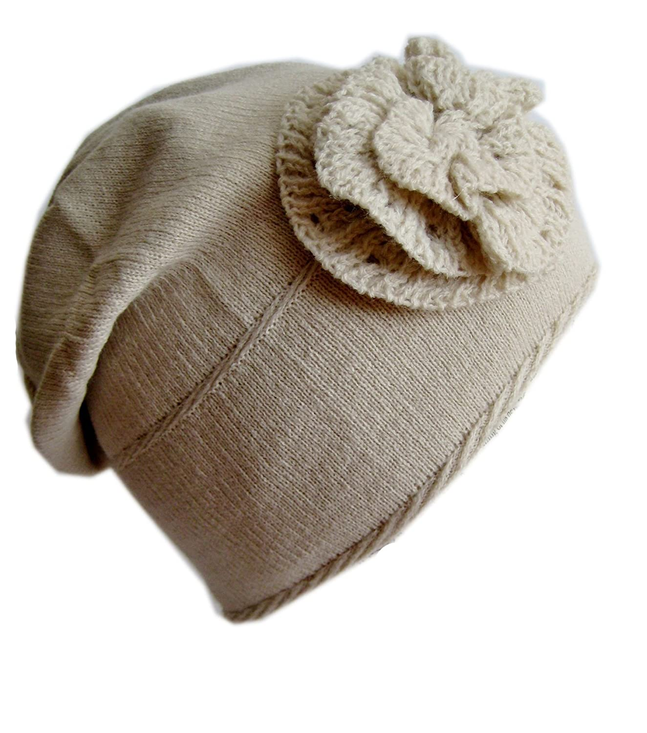 Frost Hats Winter Hat for Women and Girls BEIGE Slouchy Beanie Warm Hat Ski Beanie  Frost Hats One Size Beige at Amazon Women s Clothing store  c2d279f4025