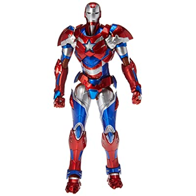 2015 Exclusive Marvel Sentinel Re: Edit Iron Man #03 Iron Patriot Action Figure: Toys & Games