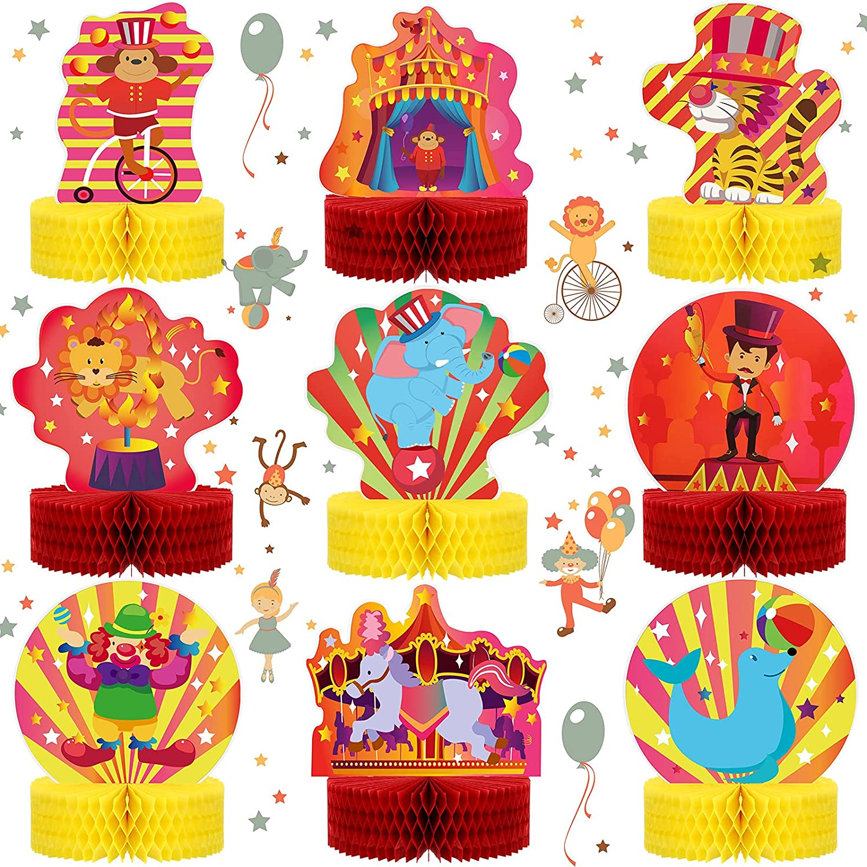 Circus Party Centerpieces