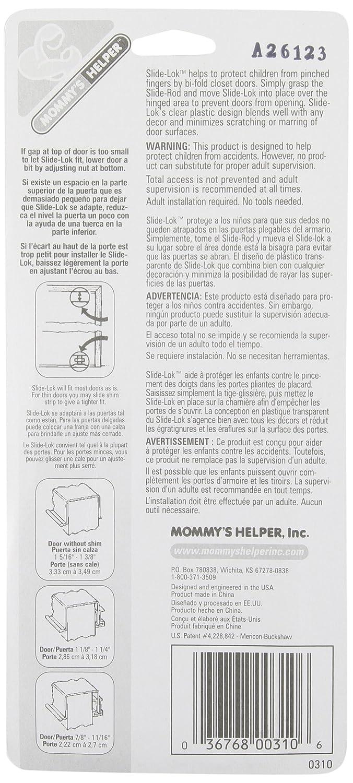 Amazoncom  Mommys Helper SlideLok BiFold Door Lock - Que es us zip code