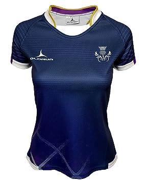 1833737c242 Olorun Scotland Contour Home Nations Ladies Rugby Shirt 8-22: Amazon ...