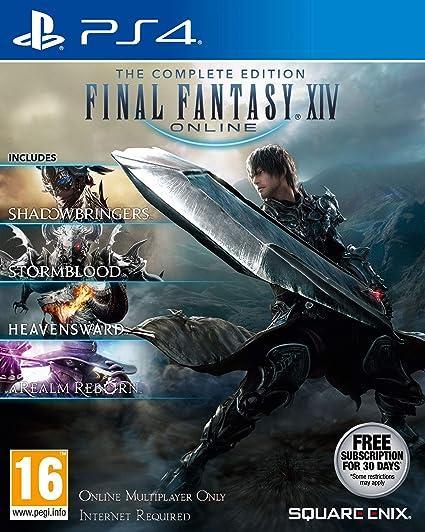 Final Fantasy XIV: The Complete Collection - PlayStation 4 [Importación inglesa]: Amazon.es: Videojuegos