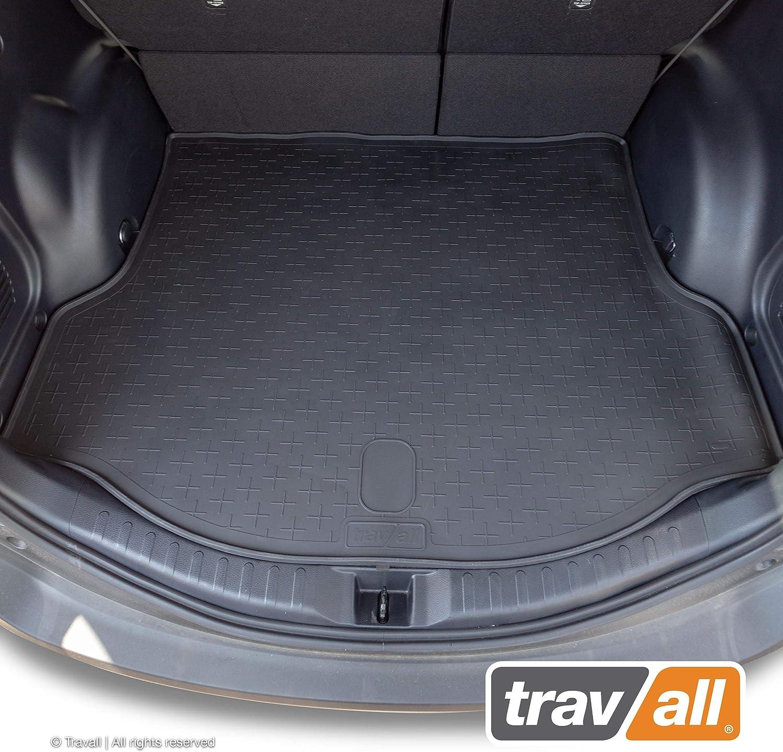Travall Liner Kofferraumwanne Tbm1098 Maßgeschneiderte Gepäckraumeinlage Mit Anti Rutsch Beschichtung Auto