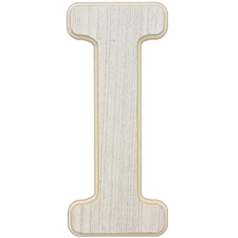 Crafts 10 x .5 x 12 Inches and Wall Decor Unfinished Wood Letter H Cutout for DIY Painting