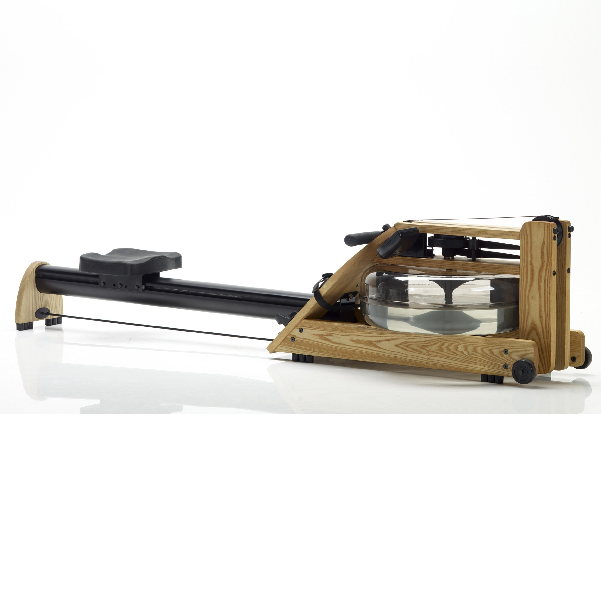 Water Rower Exercise Machine by WaterRower - A1 S4 Natural with Self-Regulating Resistance