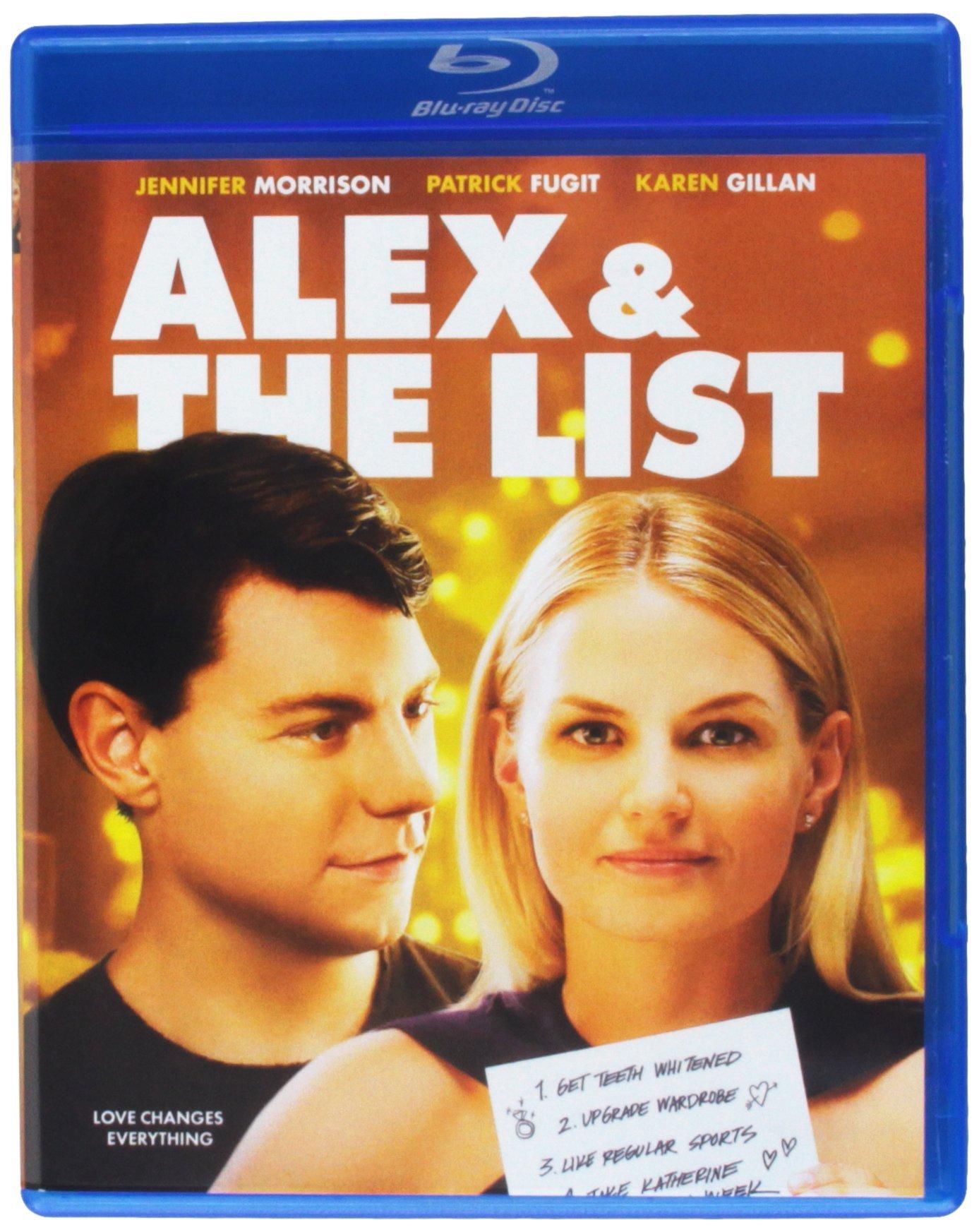 Blu-ray : Alex & The List (Blu-ray)