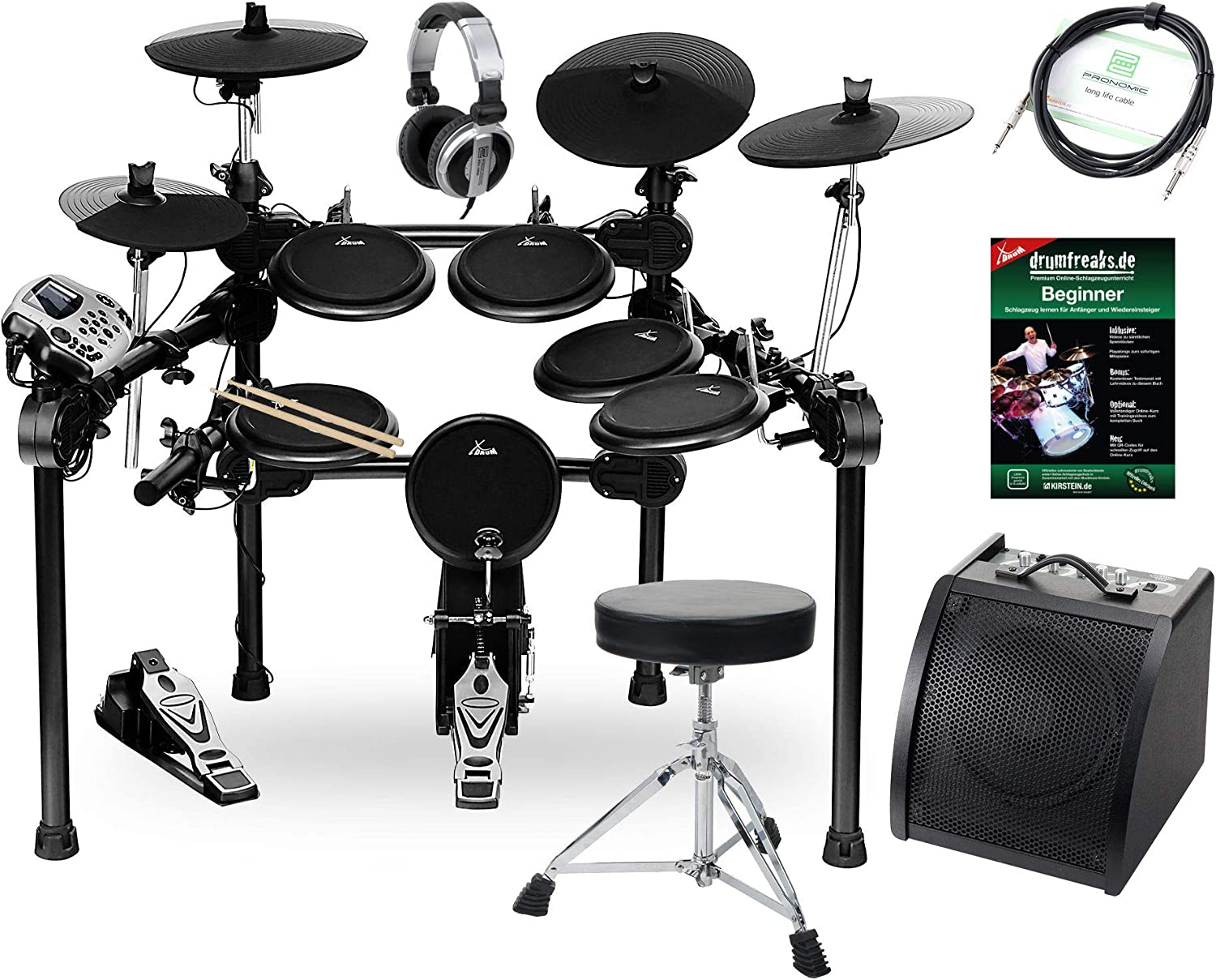 XDrum DD-520 PLUS E-Drum: Amazon.es: Instrumentos musicales