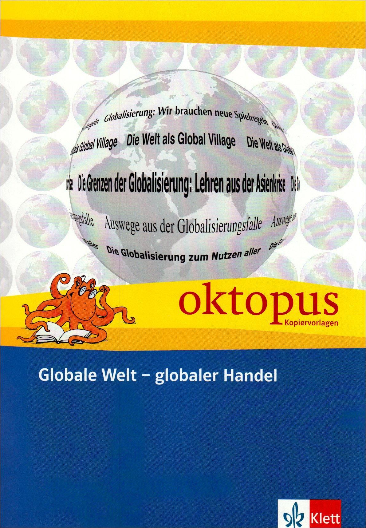 Globale Welt - globaler Handel (Oktopus Kopiervorlagen)