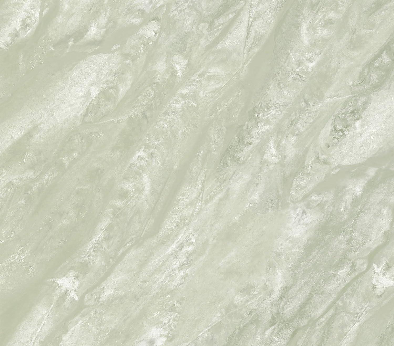 PL185653 Travertine Marble Illusion Green Mist Paper Illusions Wallpaper Torn Faux Finish Wallpaper PaperIllusion 56 Square Feet Roll - - Amazon.com