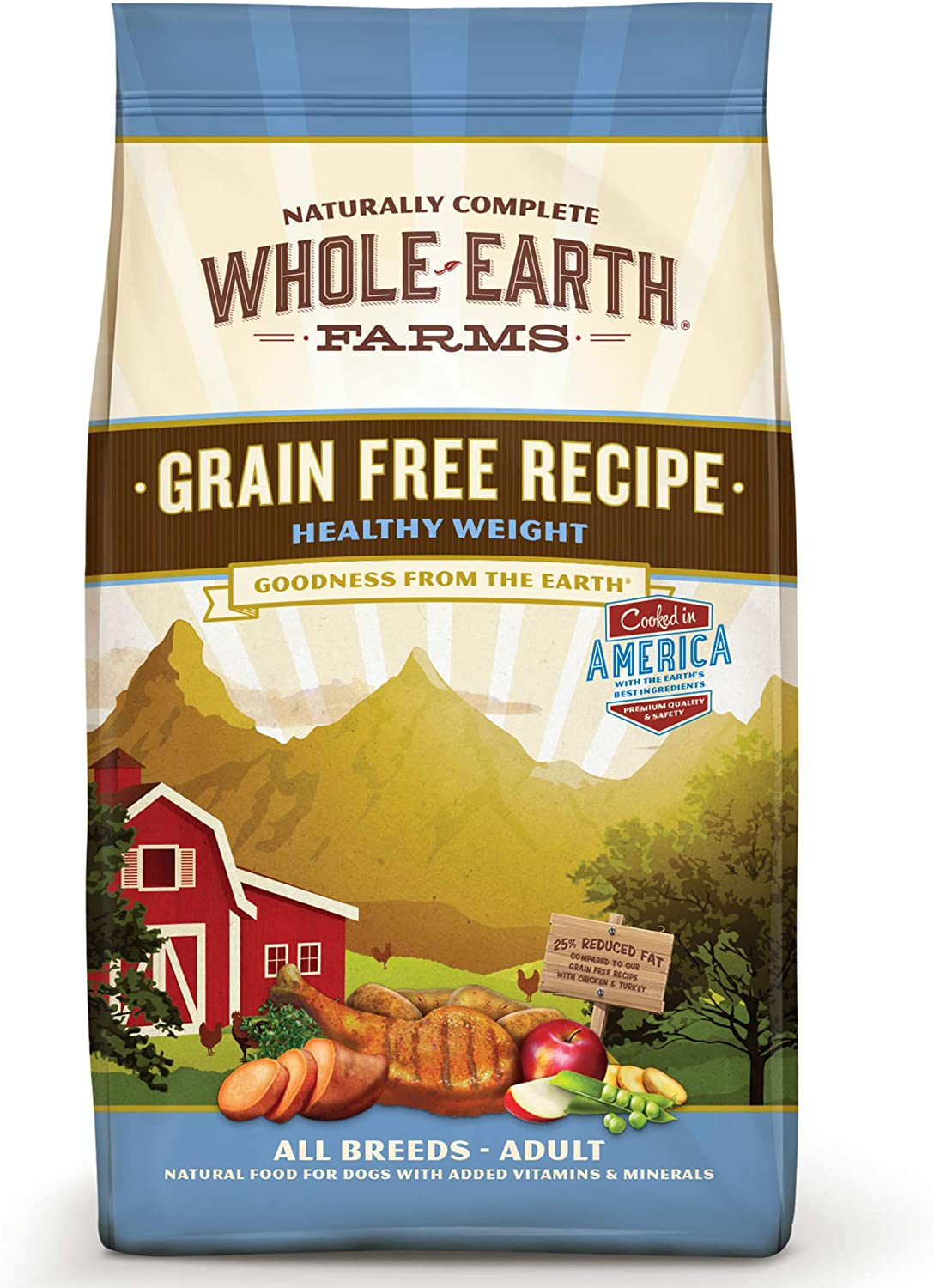 Merrick Whole Earth Farms Grain-Free Healthy Weight Dry Dog Food