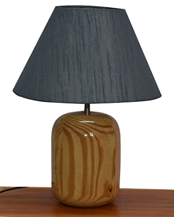 Buy Design Hill Modern Night Shade Lamp In Pine Wood Home Decorative Items Gift Item Desk Lamp Bedside Lamp Decoration Items Table Decor For Home Decor Gift Items Diwali Gift Online At Low Prices In India Amazon In