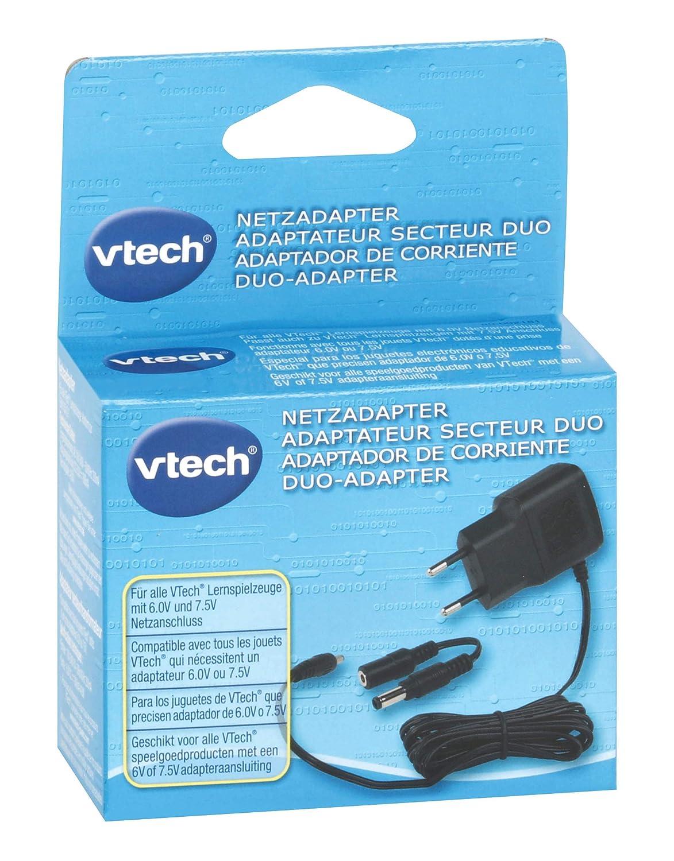 Adaptateur Secteur Duo Coloris al/éatoire 80-002181 VTech 6.0V 7.5V