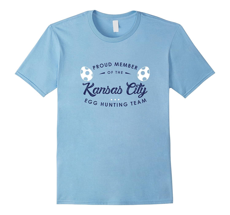 Kansas City Egg Hunting Team Shirt Cute Easter Gift-CD