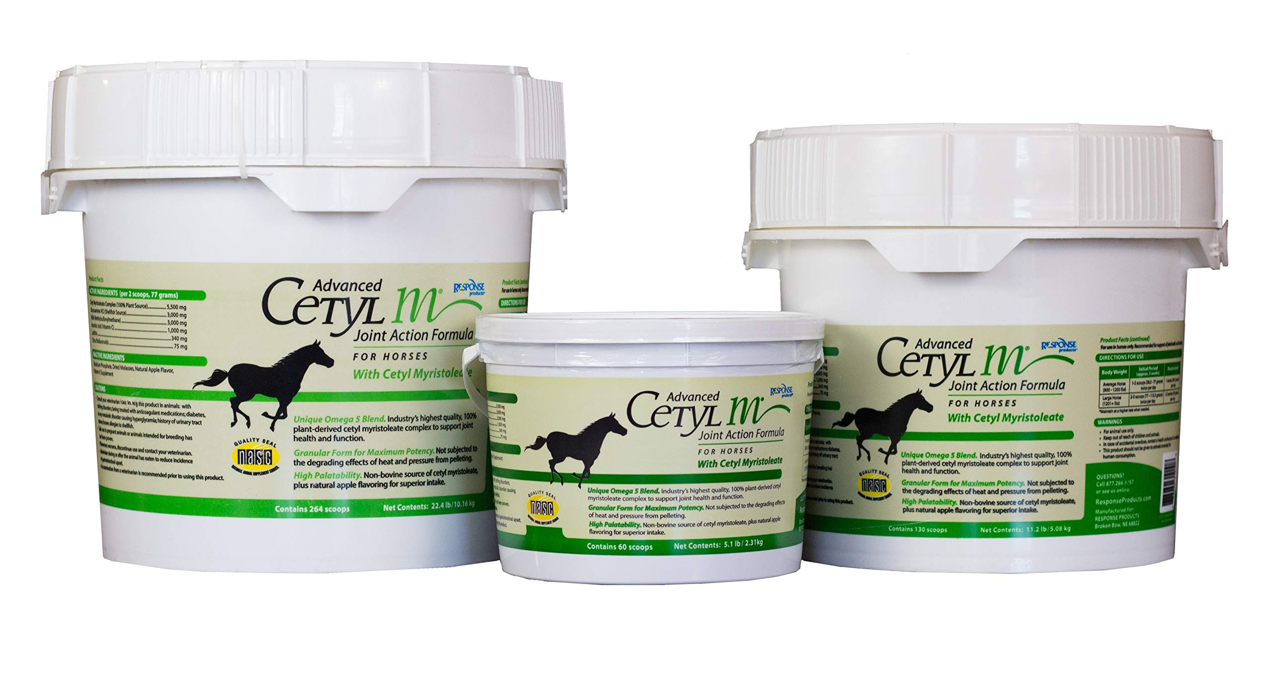 Manna Pro Cetyl-M Equine Joint Supplement Granule, 22.4 lb