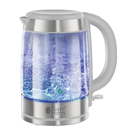 Russell Hobbs 20760 3kW 1L Purity Glass BRITA Filter Kettle Clear Kettles