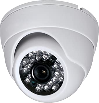 "HD-CVI WHITE 2.4MP 1080p HD 1//3/"" CMOS Outdoor IR Dome Camera 3.6MM Security"