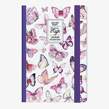 Legami 8051122266289 Agenda 18 Meses, Butterfly: Amazon.es ...