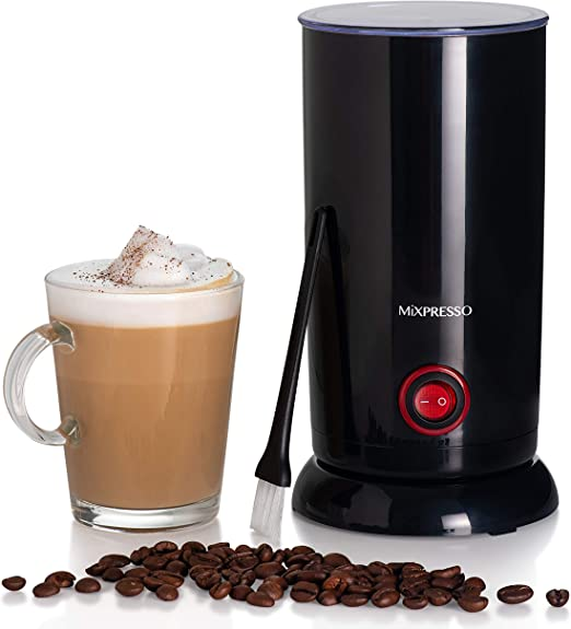 Electric Milk Frother by Mixpresso Coffee Latte Art Steamer
