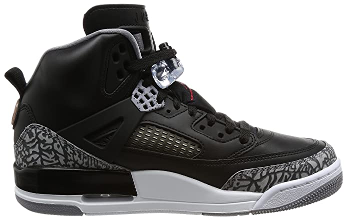 purchase cheap 50cab b8359 Nike Men s Air Jordan Spizike Black Cement Black White Red (10. 5 D(M) US)   Buy Online at Low Prices in India - Amazon.in