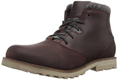 KEEN Men's The Slater WP-m Hiking Boot, Gibraltar/Raven, ...