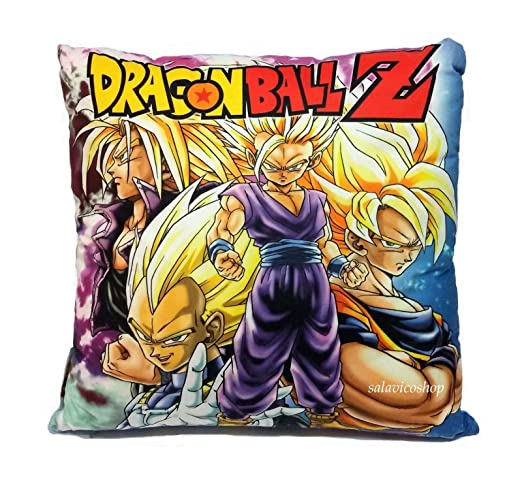 Decoraciones novidea cojín Dragon Ball Z Decorativo 40 x 40 ...