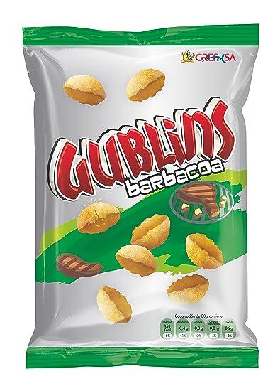 Gublins Grefusa - Barbacoa 120 gr - Pack de 2 (Total 240 grams)