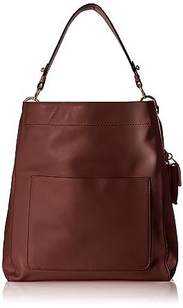 1da17c2ebf094d Amazon.com  Cole Haan Zoe Bucket Hobo Leather Shoulder Bag