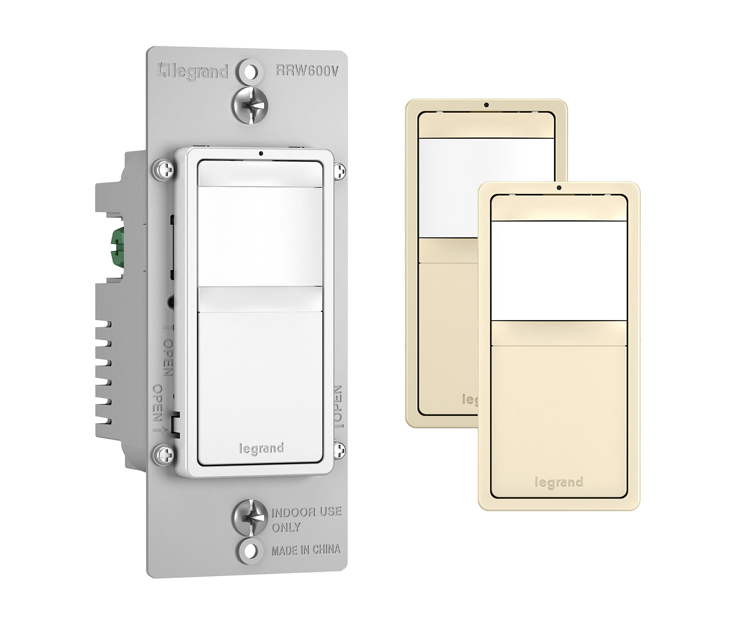 Product Title: Legrand - PASS & SEYMOUR Motion Sensor Light Switch, 120V Single Pole/3-Way Occupancy Sensor, Easy to Install, Tri-Color, Single pole.