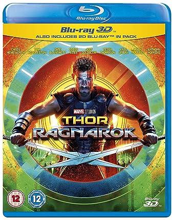 b22cb68428d53 Thor Ragnarok 3D BD  Blu-Ray   2017   Region Free   Amazon.co.uk ...