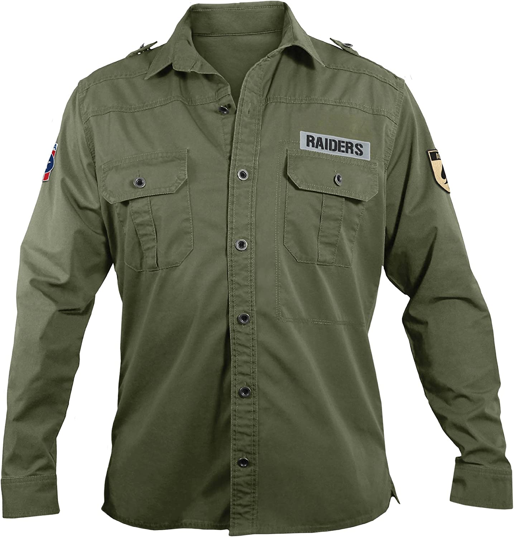 NFL Mens Militar Campo camisa