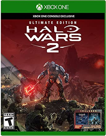 Amazon Com Halo Wars 2 Ultimate Edition Xbox One Halo Wars 2 Ultimate Edition Video Games