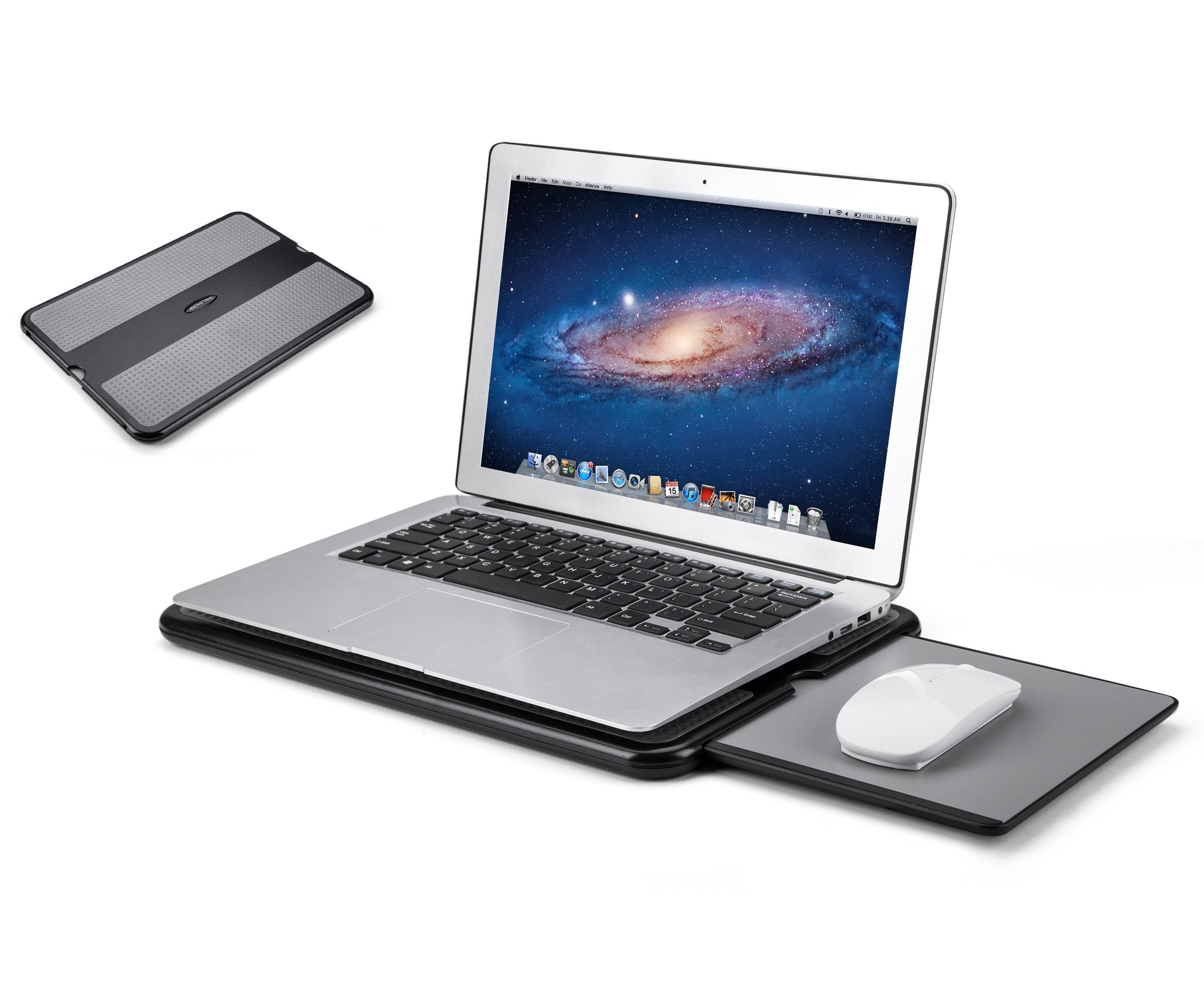 Laptop Lap Desk With Fan And Mouse Pad Hostgarcia