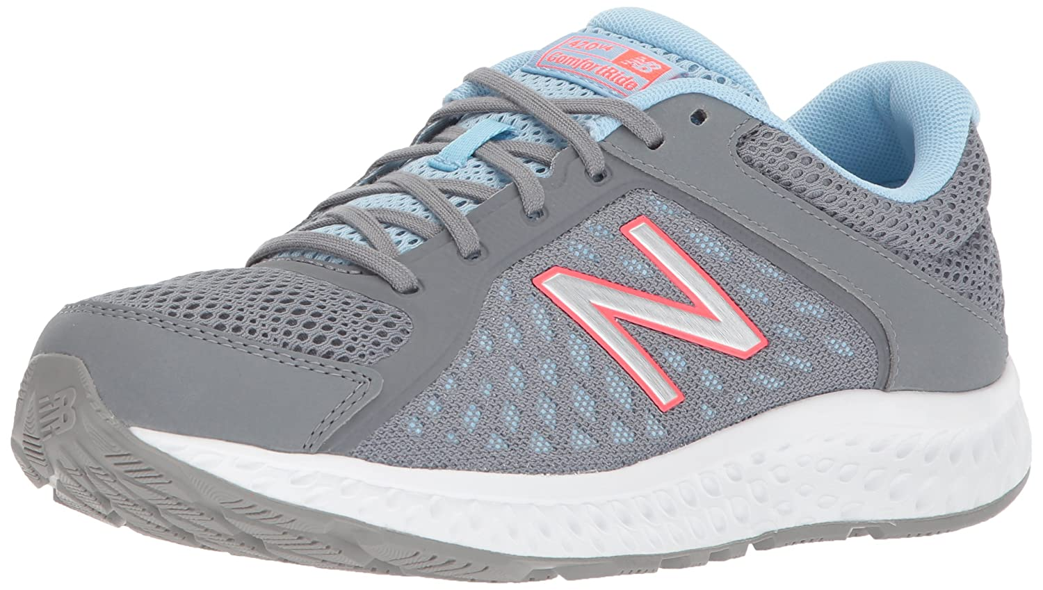 New Balance Women's 420v4 Cushioning Running Shoe B06XSDKMM6 9 D US|Grey/Blue