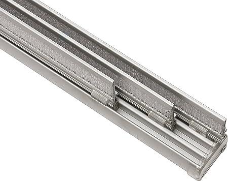 Gardinia Panneau Japonais Kit Complet Rail A 3 Voies Aluminium