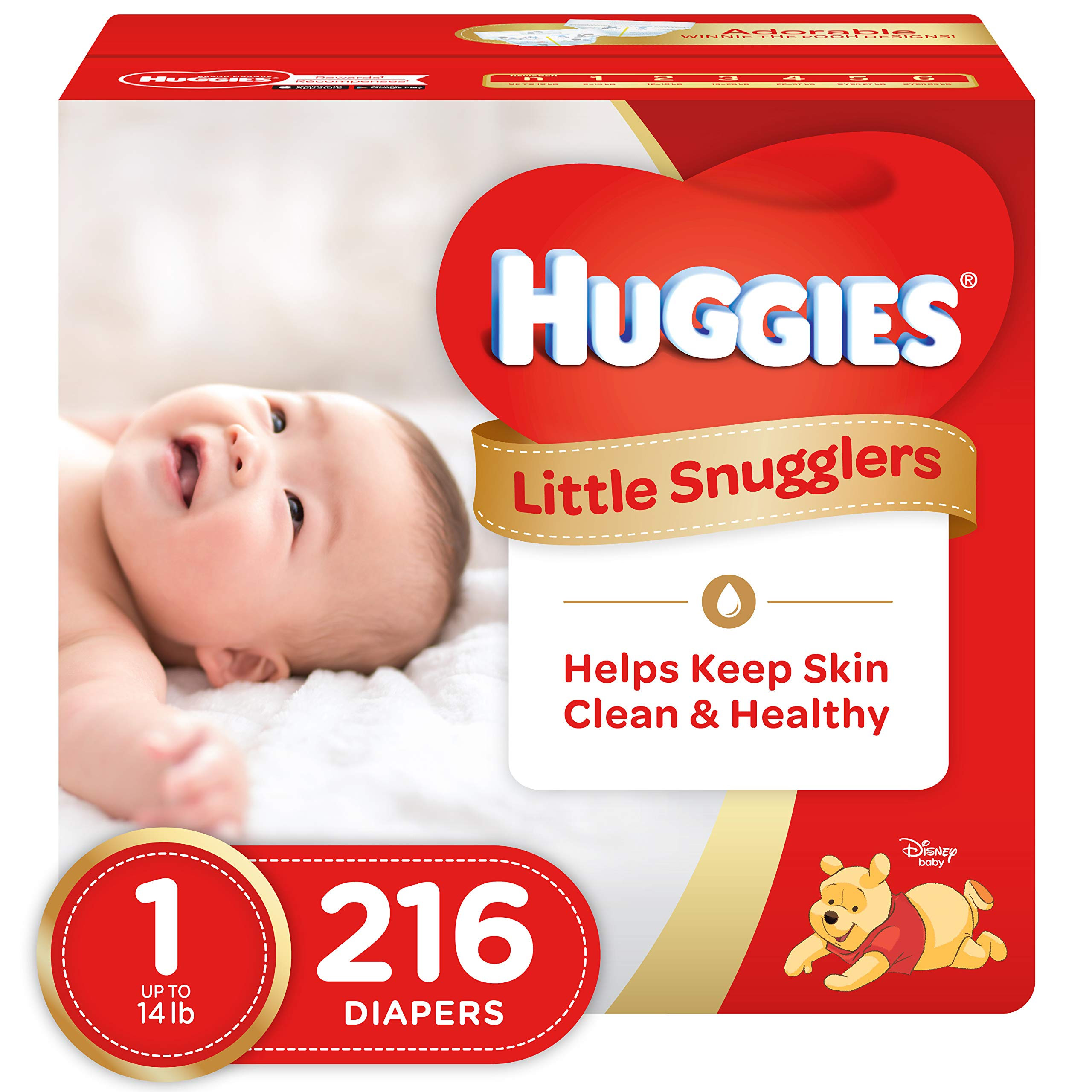Huggies Little Snugglers Baby Diapers by HUGGIES