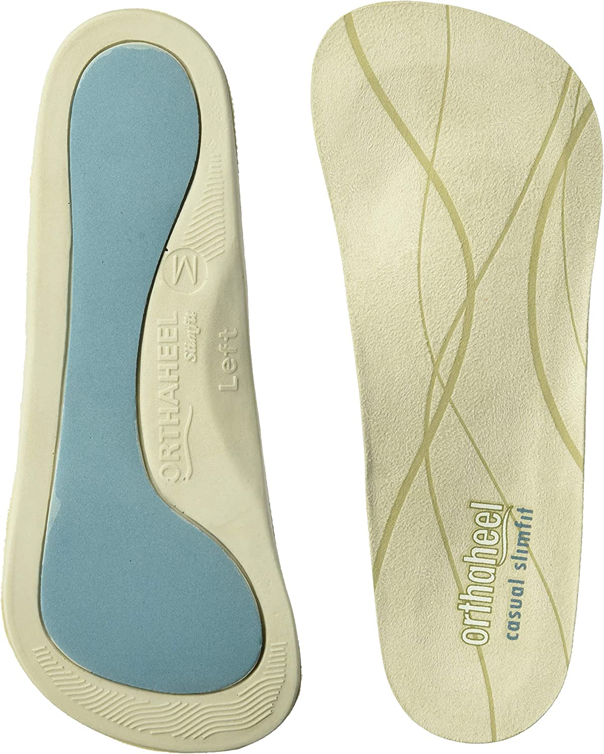 VIONIC ORTHAHEEL RELIEF FULL LENGTH ORTHOTIC INSOLES ALL SIZES NEW IN BOX