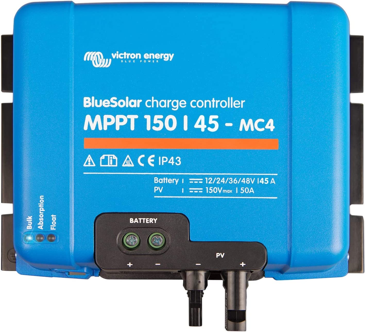 Victron Energy BlueSolar regulador solar MPPT 150/45-mc412/24/36/48V 45A