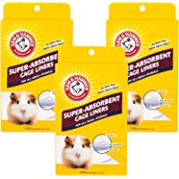 Arm & Hammer Super-Absorbent Cage Liners for Guinea Pigs, Hamsters, Rabbits & All Small Animals | Best Cage Liners for…