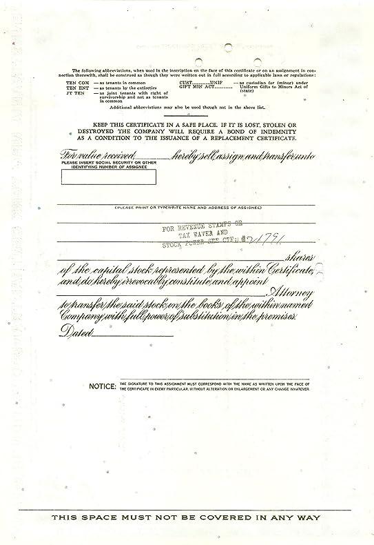 Amazon.com : Stock Certificate Pennsylvania New York Central ...