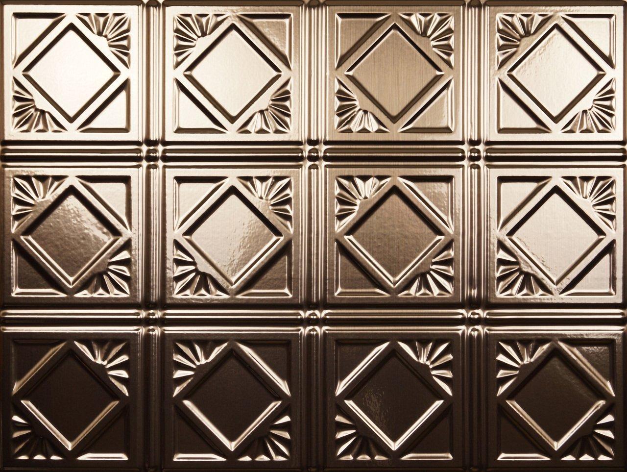 Backsplash Tile Charleston Brushed Copper