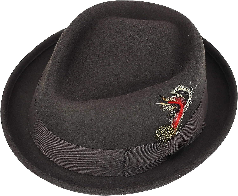 100/% MADE IN USA Fleece Black And Yellow Santa Hat NOT FELT