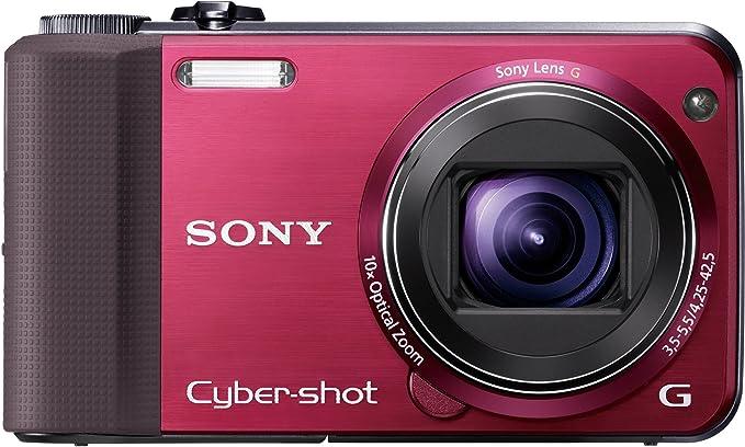 Sony Dsc Hx7vr Digitalkamera 3 Zoll Rot Kamera