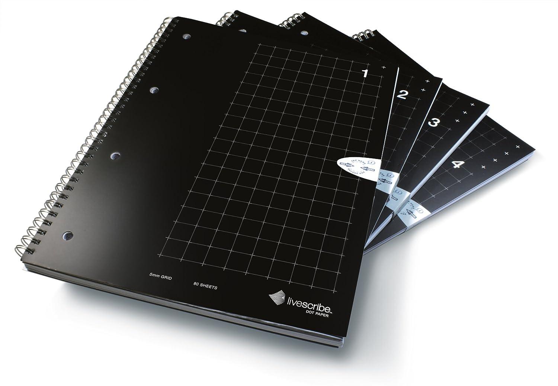 Livescribe Anx-00004 Quaderni per Appunti a Quadretti a Soggetto Singolo