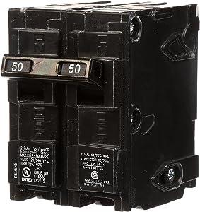Q250 50-Amp Double Pole Type QP Circuit Breaker