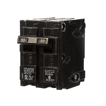Q250 50 amp double pole type qp circuit breaker amazon q250 50 amp double pole type qp circuit breaker greentooth Images