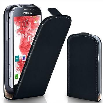 MoEx® Funda abatible + Cierre magnético Compatible con Samsung ...