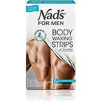 Nad's for Men Body Waxing Strips 20pk, 0.66 kilograms