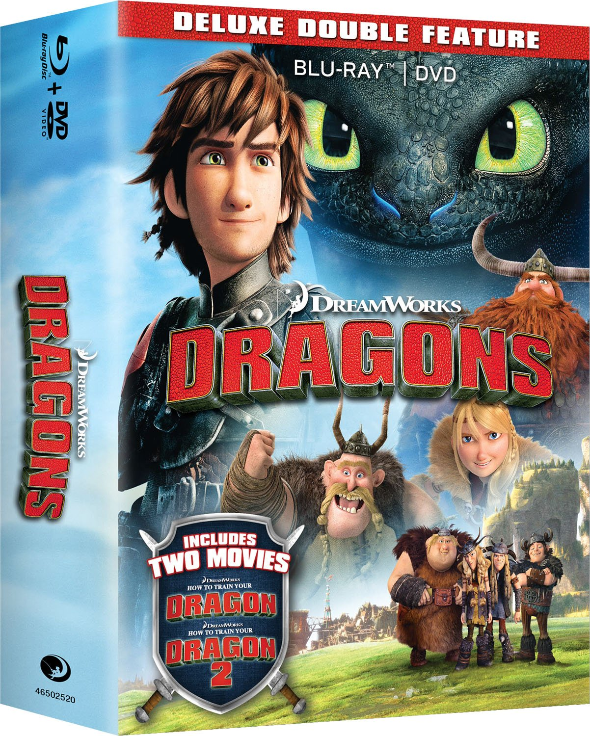 How to train your dragon box set