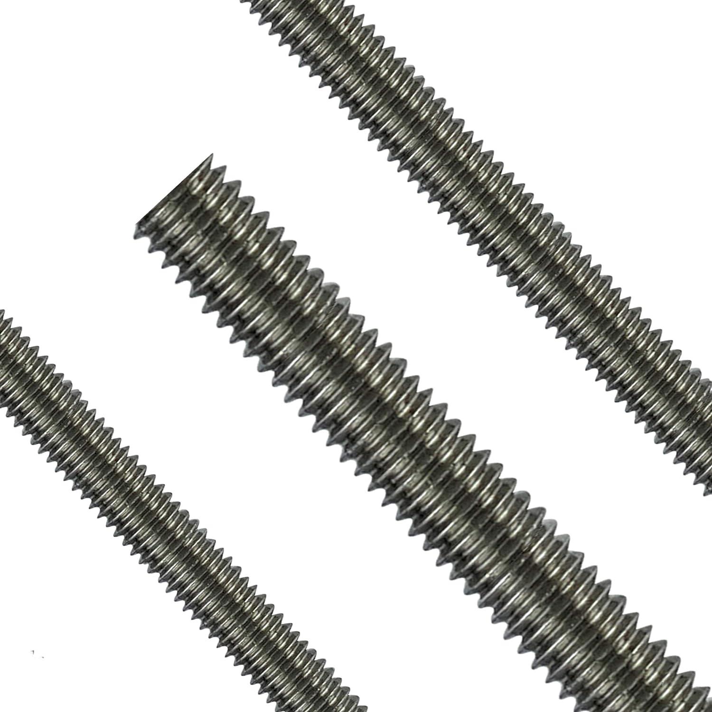 Gewindestange M14 Edelstahl V2A DIN 975//976 Gewindebolzen Gewindestab Gewindespindel Trapezspindel Trapezgewindespindel 5 St/ück 1 Meter Falk-Schrauben