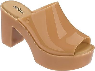 a9692ea3161 Melissa Women s Platform Sandals Beige Natural 6